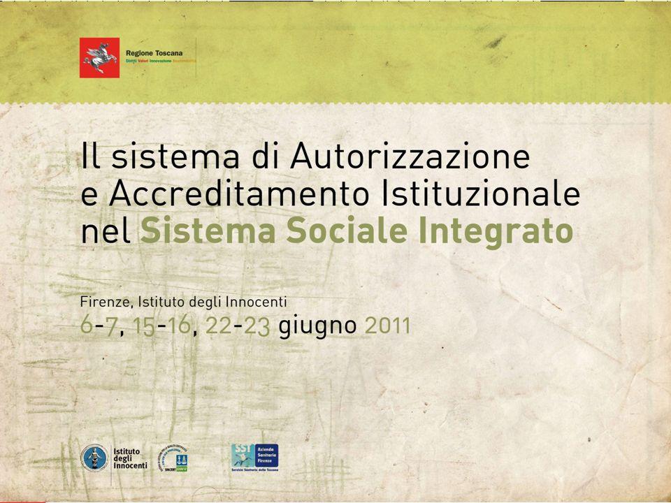 Titolo della Presentazione: 32pt Arial, Grassetto, Nero Lunghezza massima consigliata: 2 linee Direzione Generale Diritti di Cittadinanza e Coesione Sociale Il logo della Regione Toscana non deve essere modificato o spostato in alcun modo.
