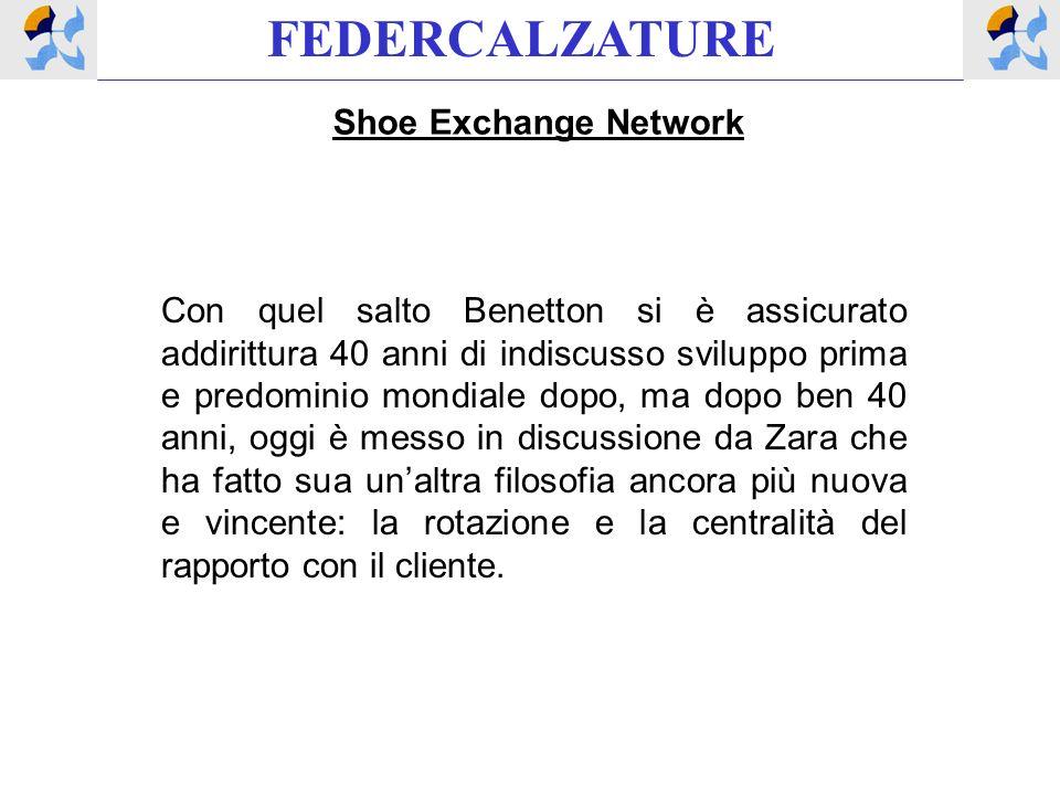 FEDERCALZATURE Shoe Exchange Network Con quel salto Benetton si è assicurato addirittura 40 anni di indiscusso sviluppo prima e predominio mondiale do