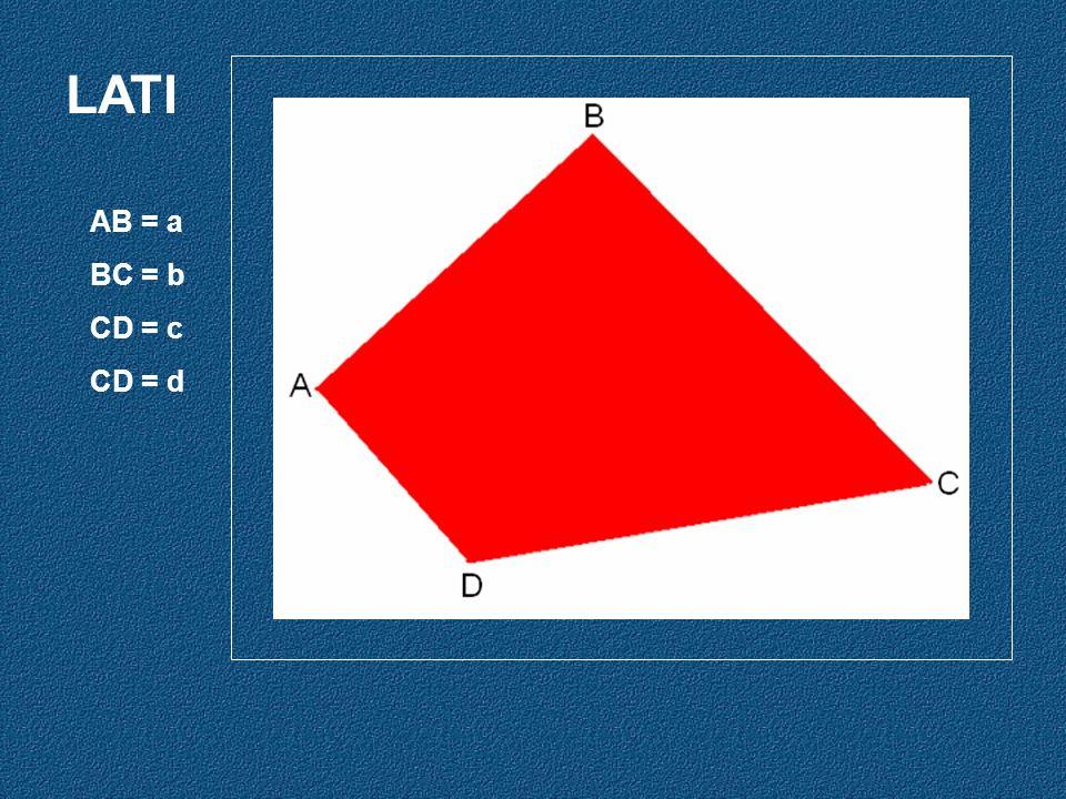 LATI AB = a BC = b CD = c CD = d