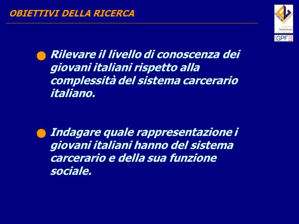 sono stati raccolti e analizzati i dati strutturali e le norme che regolano il sistema penitenziario italiano, al fine di giungere ad un quadro descrittivo della situazione attuale delle carceri.