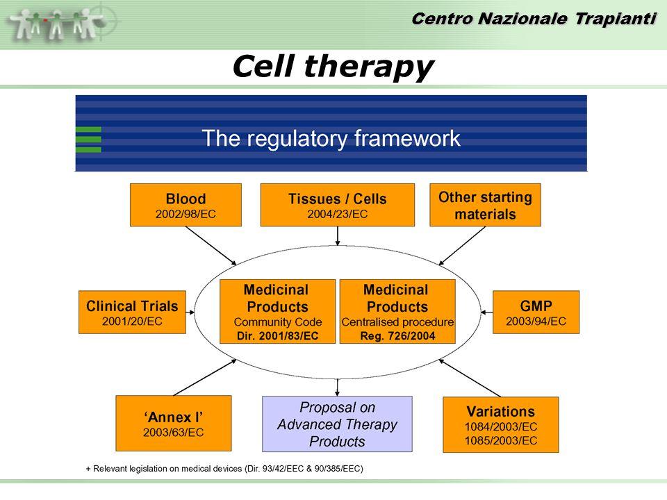 Centro Nazionale Trapianti Cell therapy