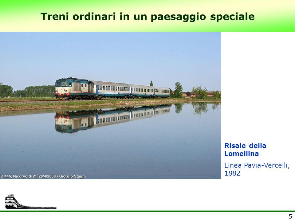 6 Treni ordinari in un paesaggio speciale Lago dIseo Linea Brescia – Iseo – Edolo (Ferrovienord) 1907