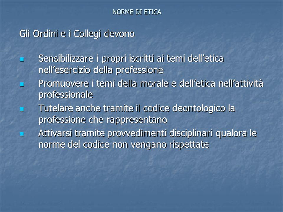 Codice Deontologico del C.N.I.Norme di Attuazione: 2.