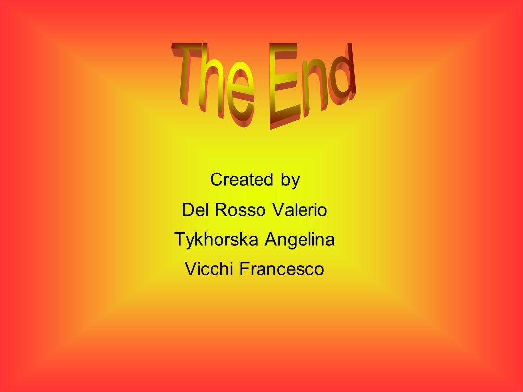 Created by Del Rosso Valerio Tykhorska Angelina Vicchi Francesco