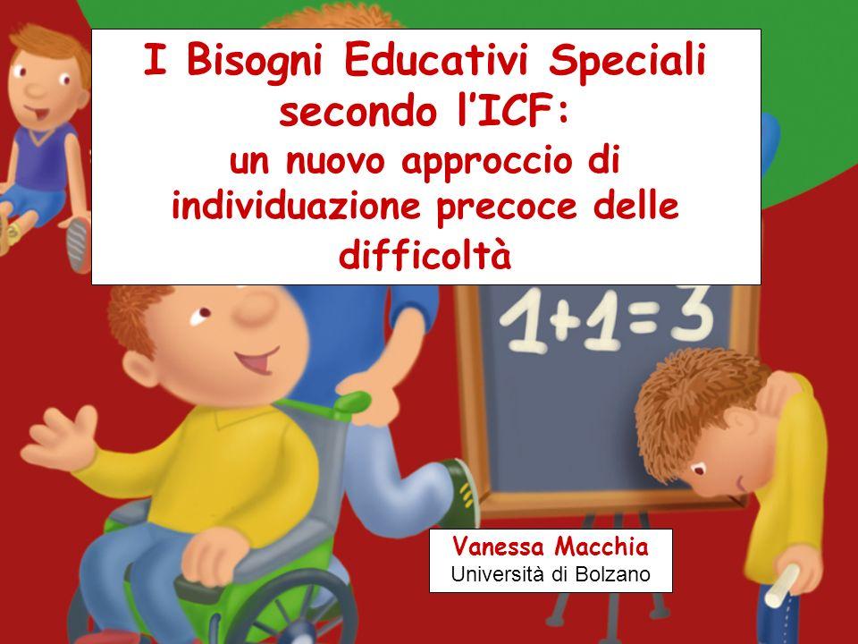 Bisogni Educativi Speciali da CONDIZIONI FISICHE difficili : ospedalizzazioni malattie acute/croniche (diabete, allergie, ecc.) lesioni fragilità anomalie cromosomiche ecc.