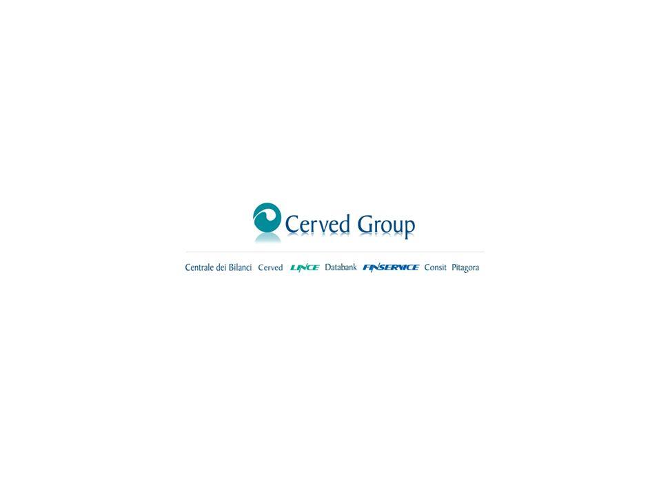 15 La banca dati Cerved Group sugli eventi di default Considerando le 55.000 maggiori aziende italiane, i default dimpresa (fallimenti e altre procedu