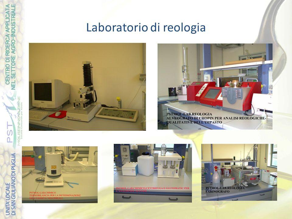 Laboratorio di reologia