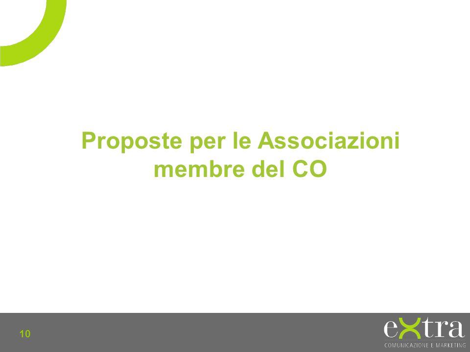 10 Proposte per le Associazioni membre del CO