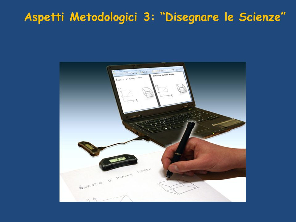 Aspetti Metodologici 3: Disegnare le Scienze