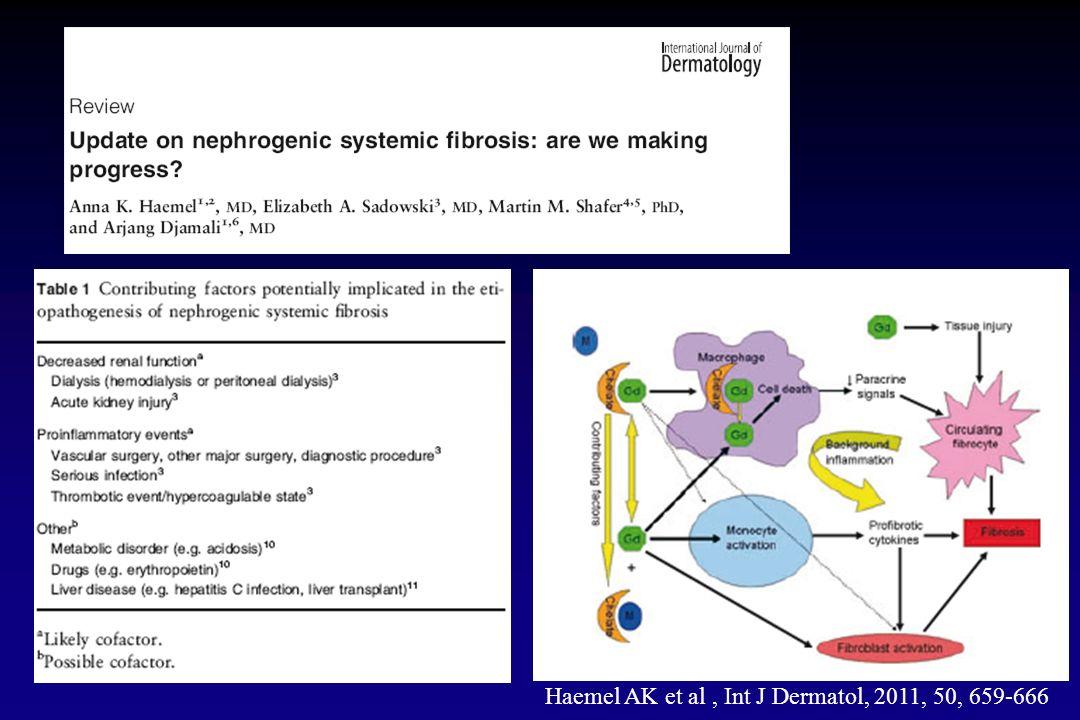 Haemel AK et al, Int J Dermatol, 2011, 50, 659-666