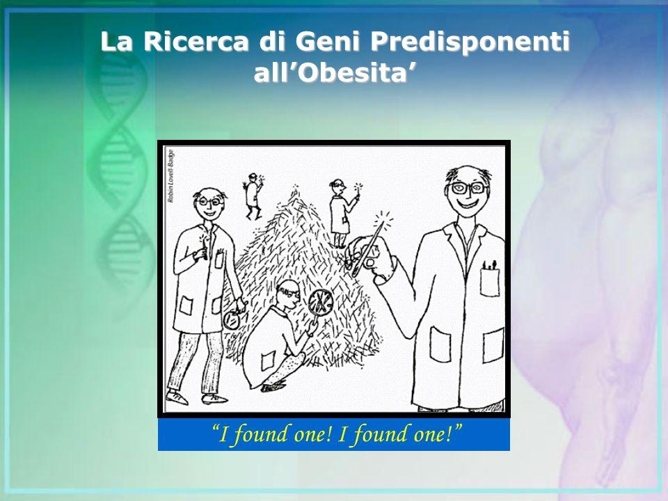 La Ricerca di Geni Predisponenti allObesita I found one!