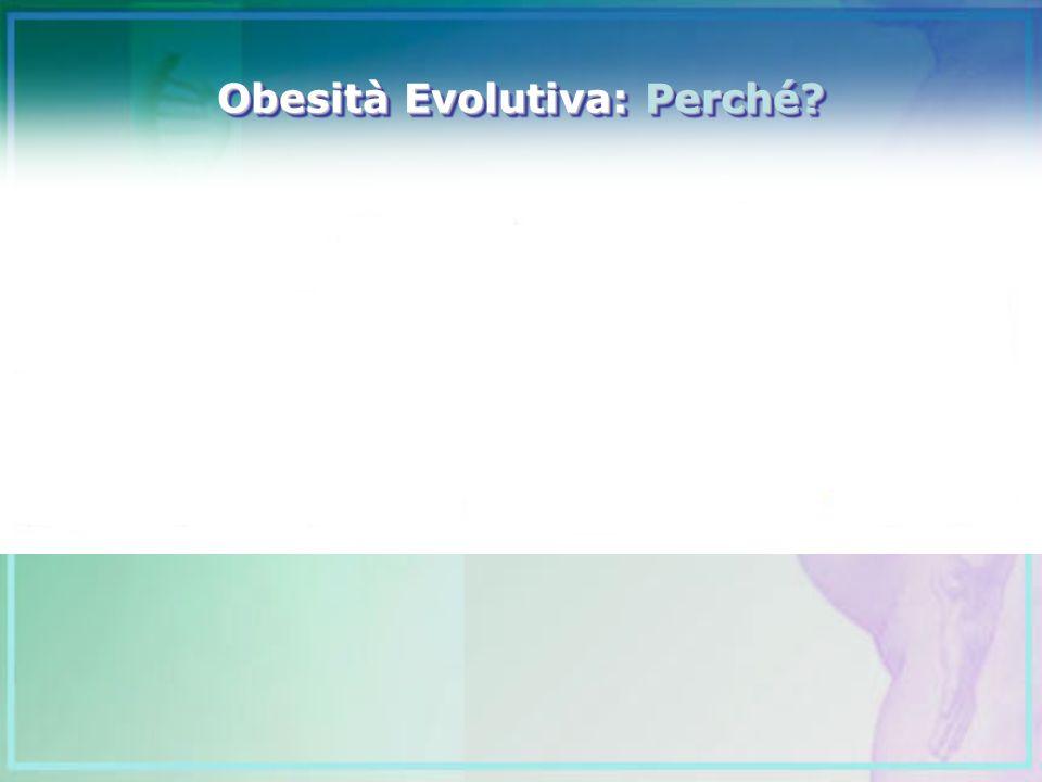 Obesità Evolutiva: Perché?