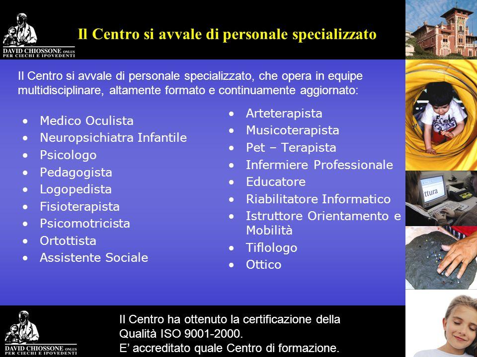 Medico Oculista Neuropsichiatra Infantile Psicologo Pedagogista Logopedista Fisioterapista Psicomotricista Ortottista Assistente Sociale Arteterapista