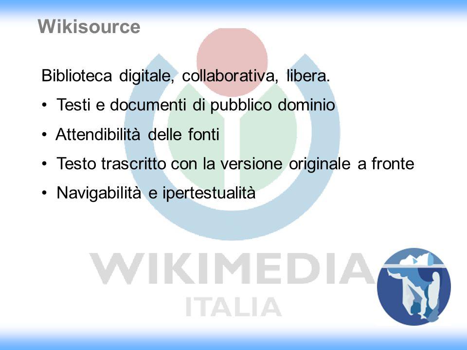 Perchè wiki.