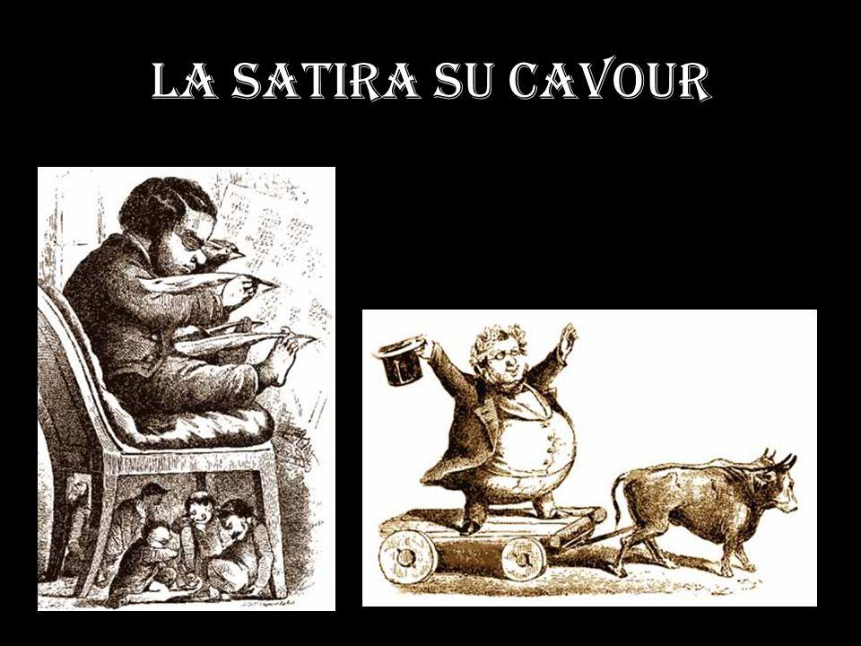 La satira su Cavour