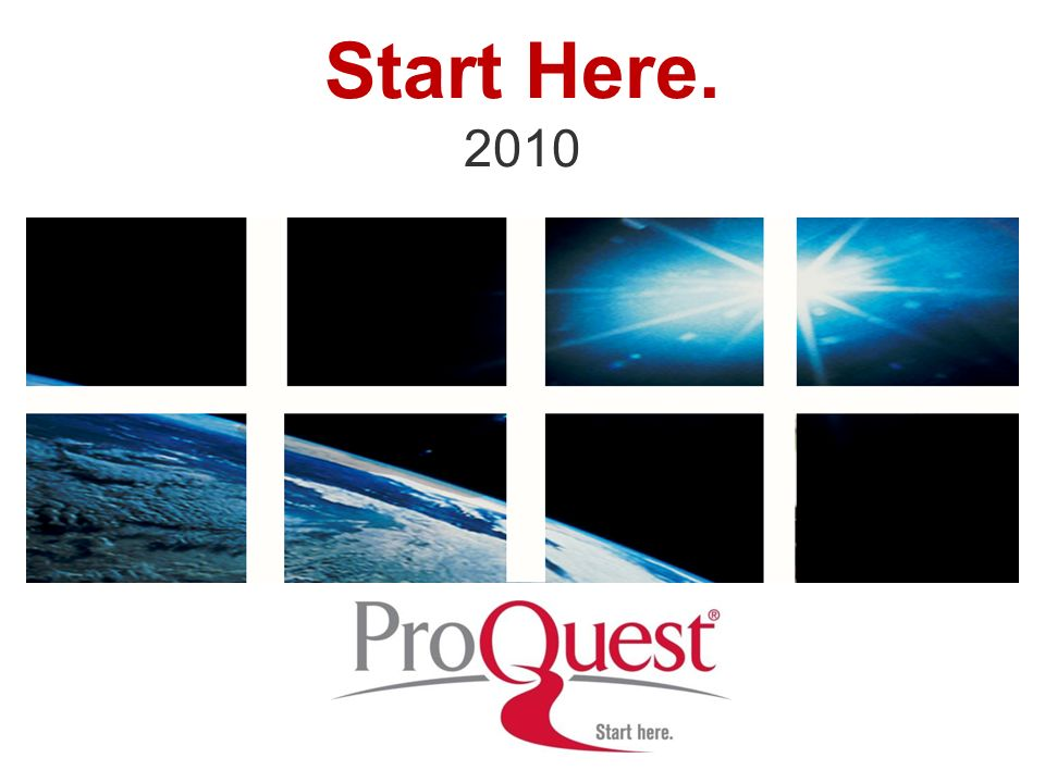 Start Here. 2010