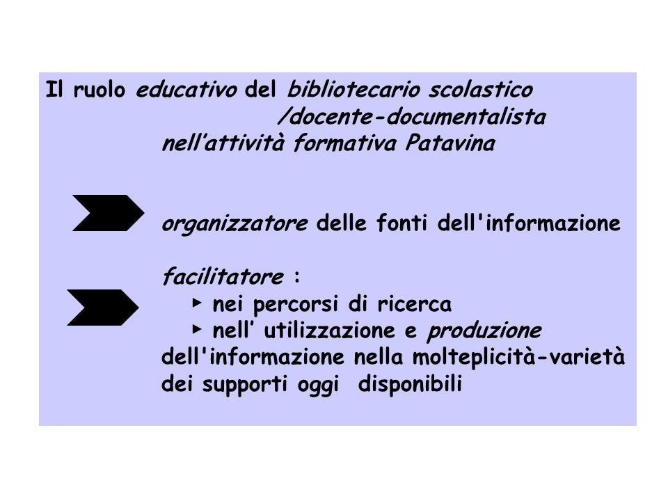 La competenza del bibliotecario scolastico nelle linee guida IFLA deve essere relativa allambito: biblioteconomico didattico del management (organizza