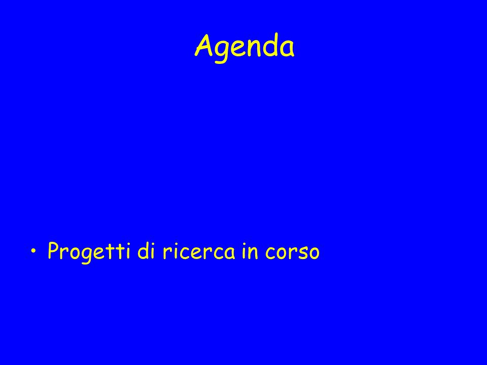 Agenda Registrazione modello 1.01 Presentazione protocollo adulti LCH-A1 Presentazione del nuovo protocollo HLH- 2004 Aggiornamento sulla genetica del