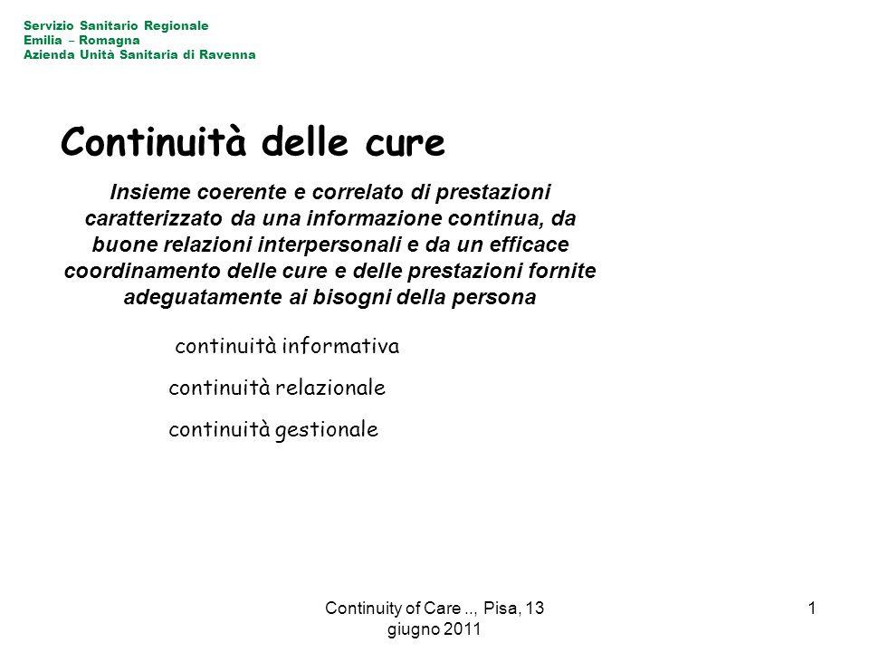 Insieme coerente e correlato di prestazioni caratterizzato da una informazione continua, da buone relazioni interpersonali e da un efficace coordiname