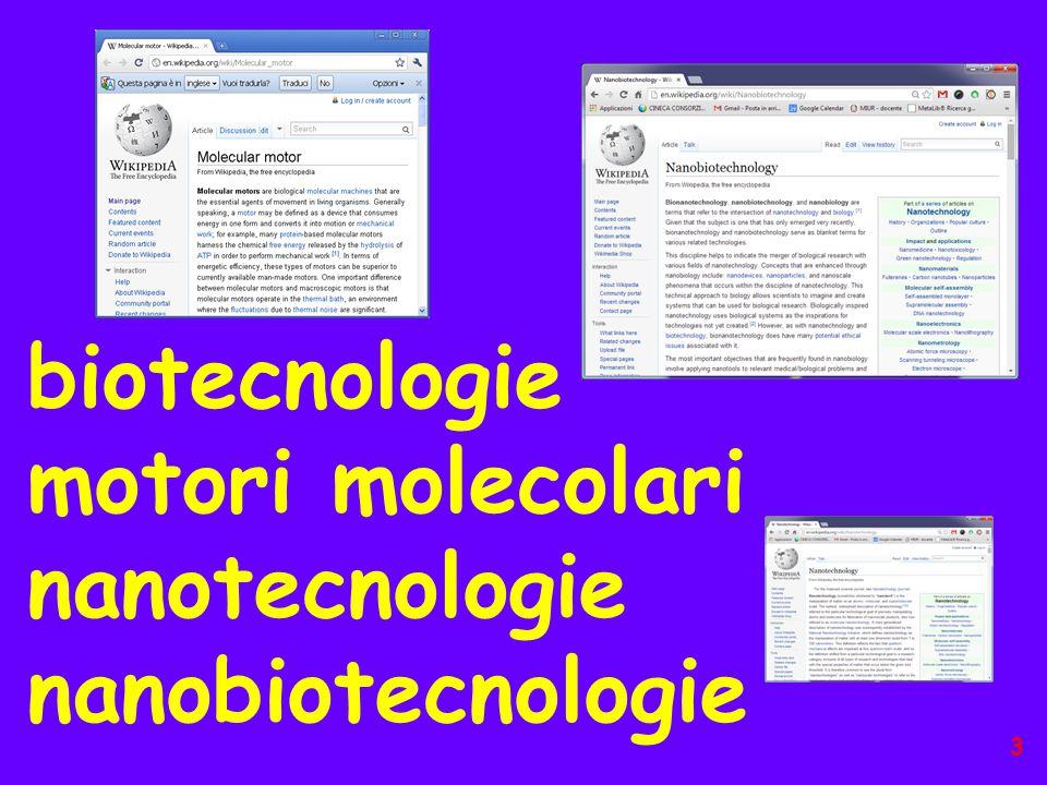 motori molecolari nanotecnologie nanobiotecnologie 3