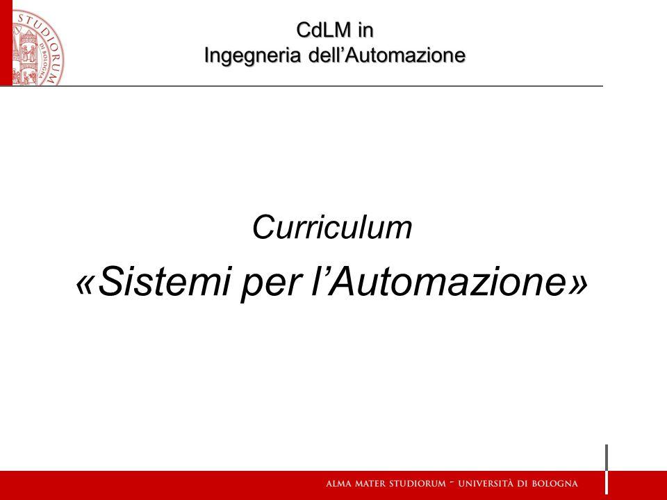 Curriculum «Automation Engineering»