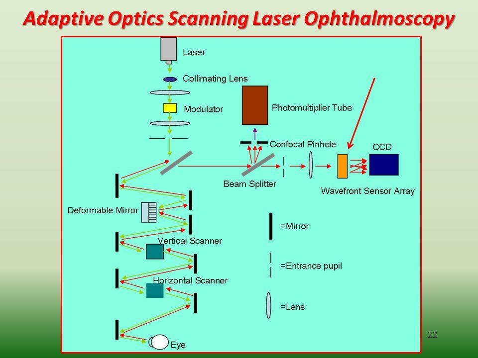 Adaptive Optics Scanning Laser Ophthalmoscopy 22