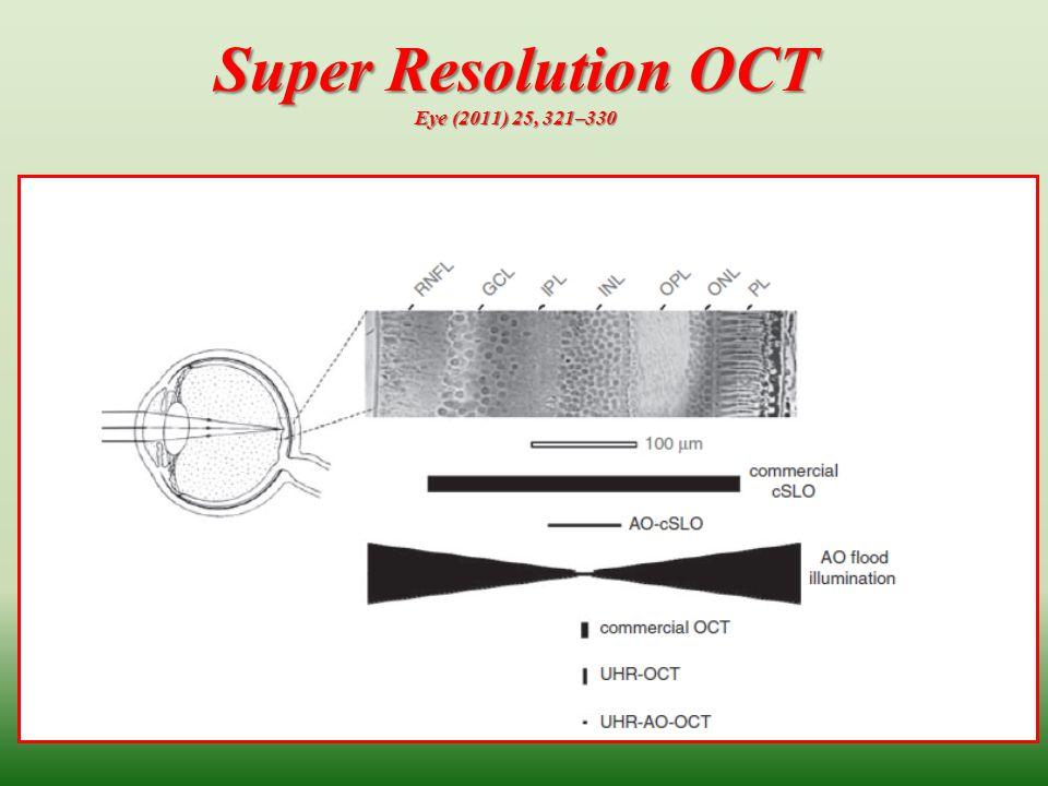Super Resolution OCT Eye (2011) 25, 321–330 27
