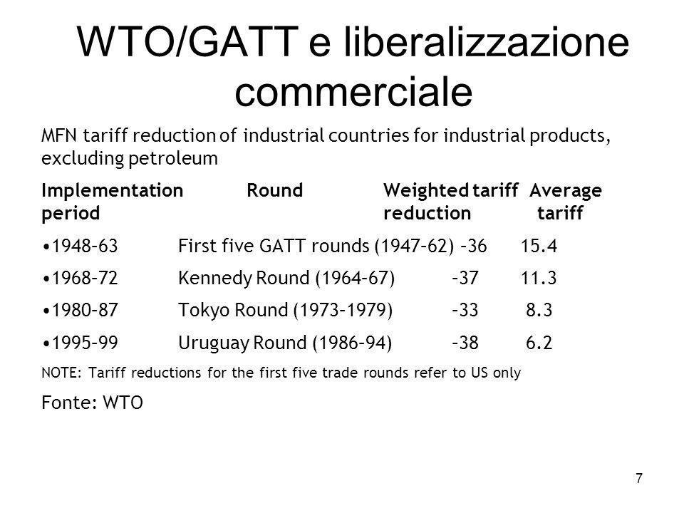 Effetti sui consumatori Ai russi, una volta che il Paese fosse entrato a far parte dell'Organizzazione Mondiale del Commercio, erano stati promessi prezzi più contenuti.