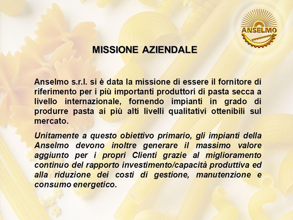 MISSIONE AZIENDALE Anselmo s.r.l.