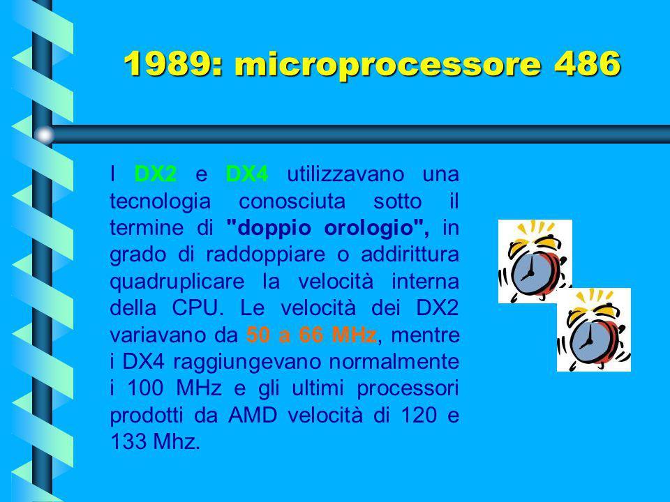 I modelli DX raggiungevano una velocità massima di 50 MHz e rappresentarono, unitamente ai loro