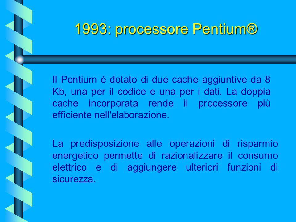 I Pentium offrivano prestazioni per ciclo di clock di poco inferiori al doppio a quelle di un 486. I 486 più veloci funzionavano ad una velocità vicin