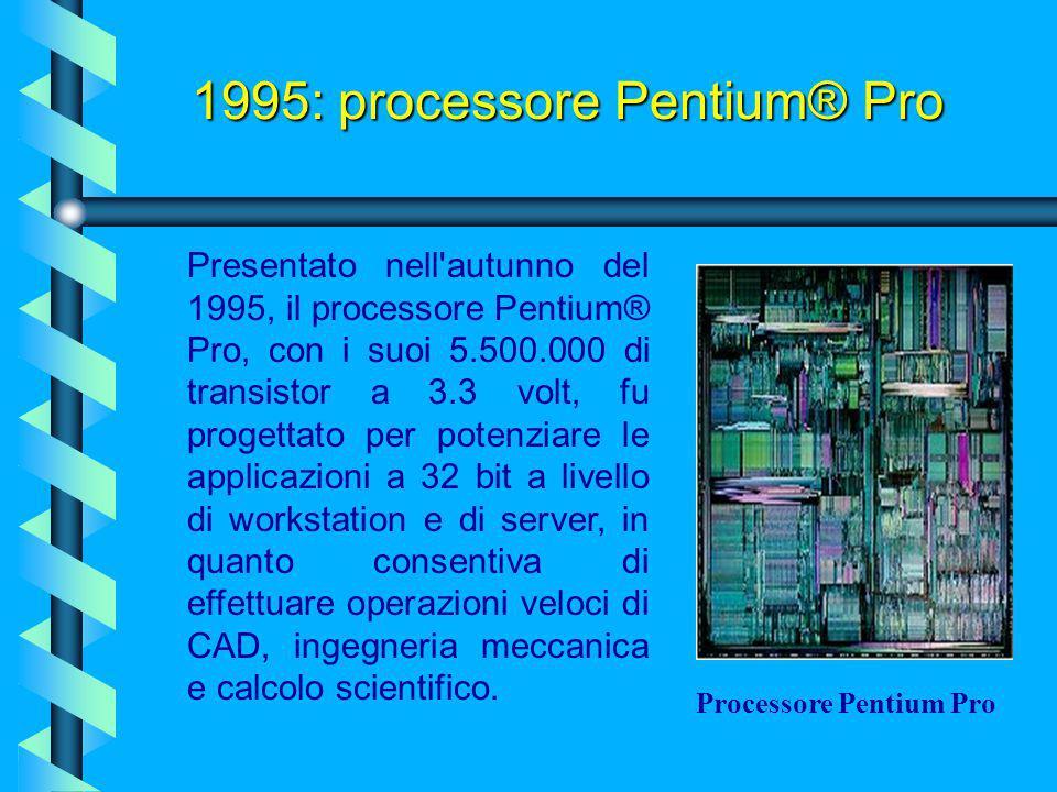 Con questa versione di Pentium la Intel correggeva il suo precedente BUG sulle CPU P5 e portava la tecnologia da 0.8 a 0.35 micron, il che andò a favo