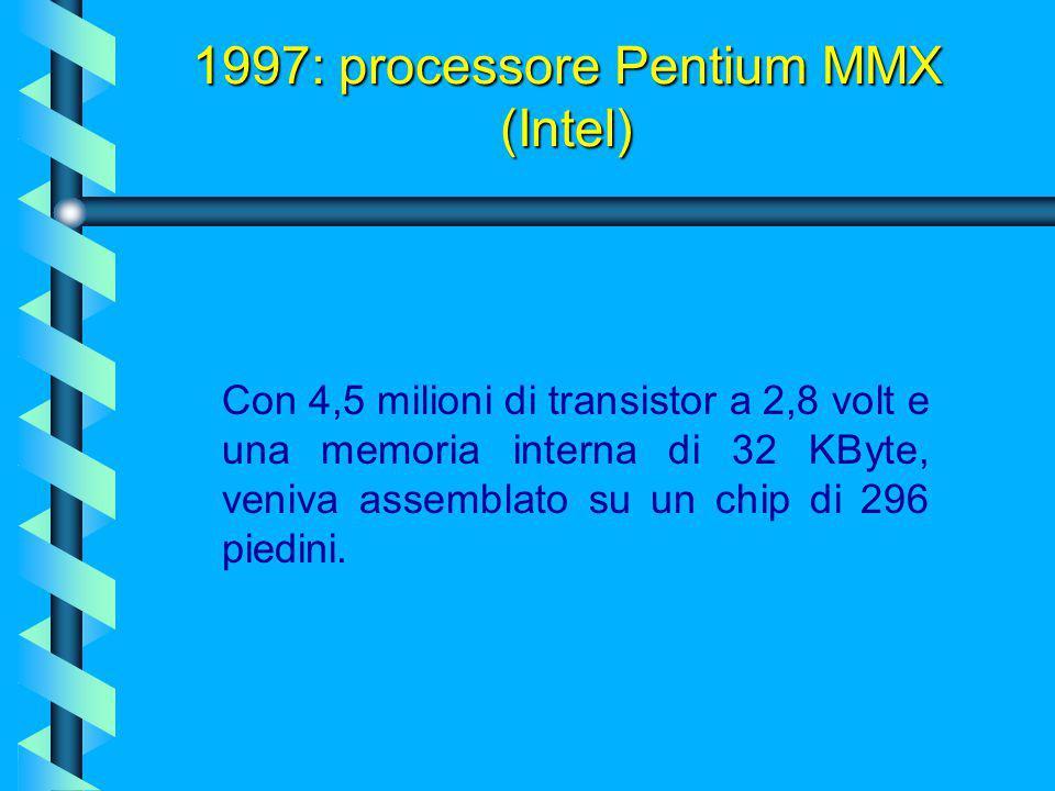 Questo processore, nato l'8 Gennaio del 1997, era come un normale Pentium, ma costruito con una tecnologia migliore (piste elettriche a 0.35 micron) c