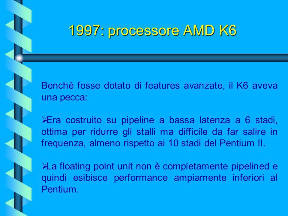 Tuttavia l'economicità di questo processore, unita alle buone performance, resero ad AMD un discreto guadagno. La sua architettura si basa su 8,8 mili