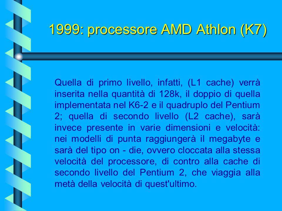 Tra le novità di questo processore rileviamo per prima una frequenza di bus ufficiale, supportata dal nuovo protocollo della Alpha detto EV6, che sarà