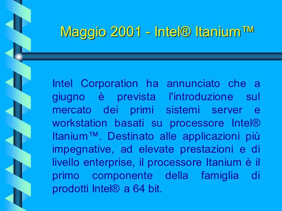 Pentium 4 (Willamette)….un processore formidabile? Il primo Pentium 4, quindi, non ottenne il successo sperato. Intel decise quindi di abbandonare RAM