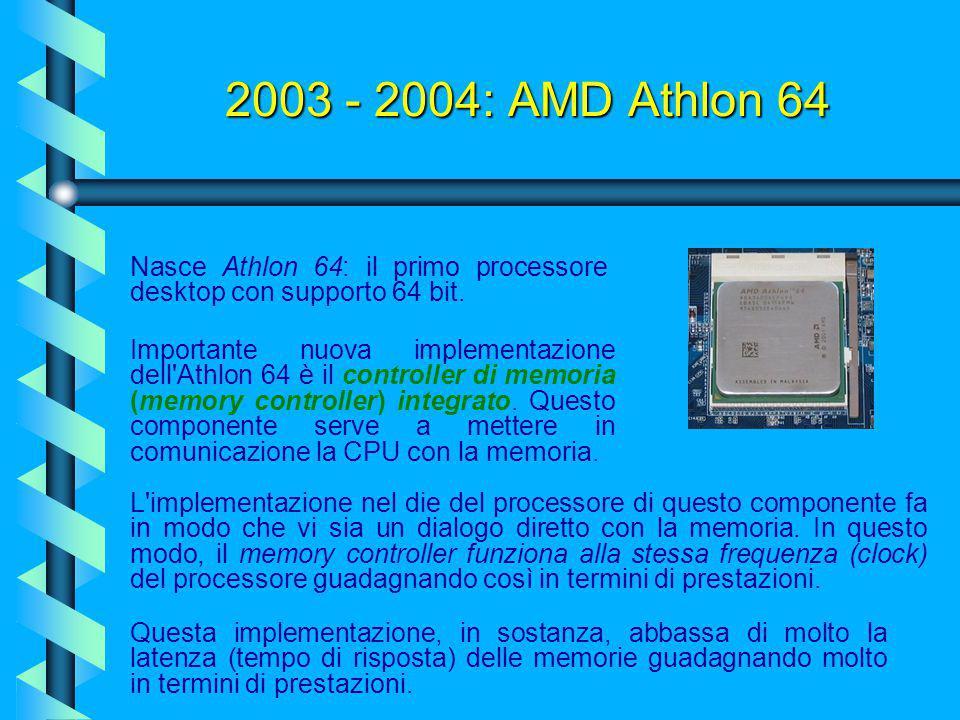 2003: Pentium 4 Extreme Edition Ed ecco infine l'apice del Northwood, il Pentium 4 Extreme Edition. Questo processore fu annunciato da Intel verso met