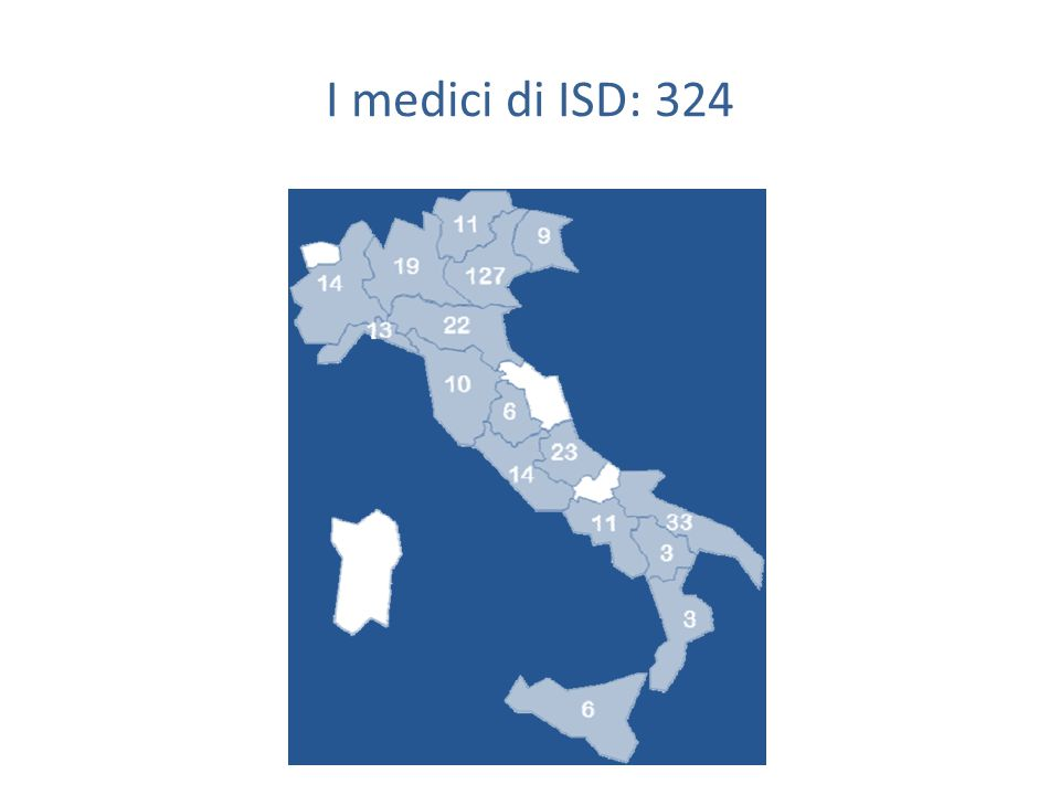 Le condizioni a Verona sembrano favorevoli Specialisti psichiatri Medici di medicina generale Farmacisti dei servizi territoriali