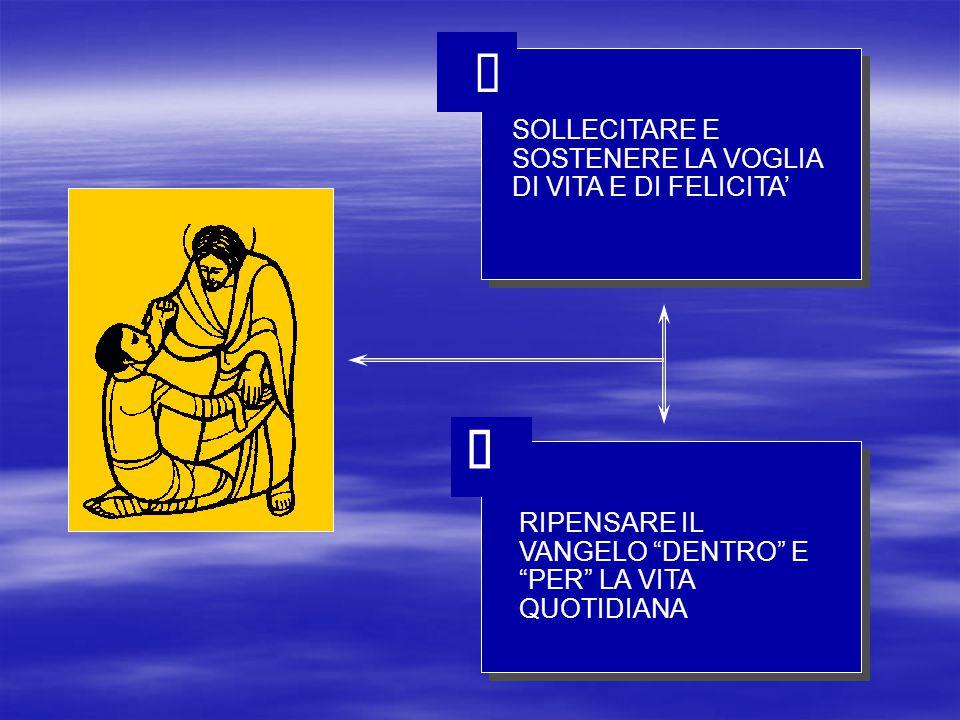 DESIDERIO DI VIVERE LA COMU- NIONE ECCLESIALE ESPERIENZA FACILE PER LE DINAMICHE INTERNE LIVELLO ALTO DI VITA E RESPON- SABILITA ECCLESIALE GRUPPI E COMUNITA SONO UN LUOGO DI 1.