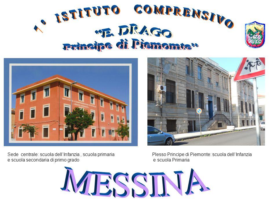 Sede centrale: scuola dell'Infanzia, scuola primaria e scuola secondaria di primo grado Plesso Principe di Piemonte: scuola dell'Infanzia e scuola Pri
