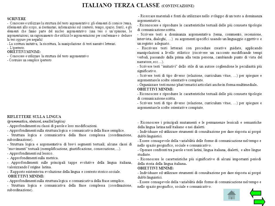 SCRIVERE - Conoscere e utilizzare la struttura del testo argomentativo: gli elementi di cornice (tema, riferimenti allo scopo, ai destinatari, informa