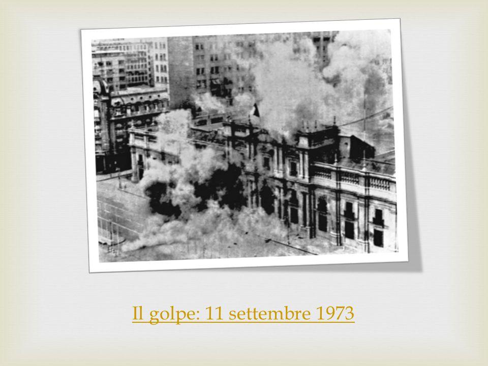 Il golpe: 11 settembre 1973
