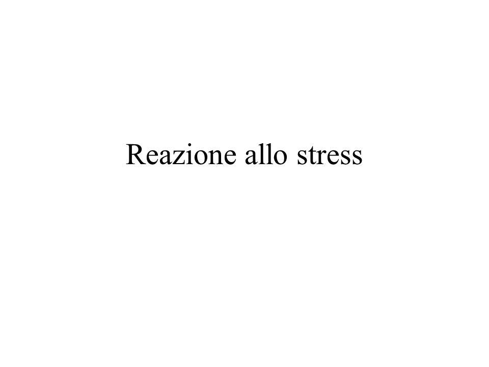Reazione allo stress