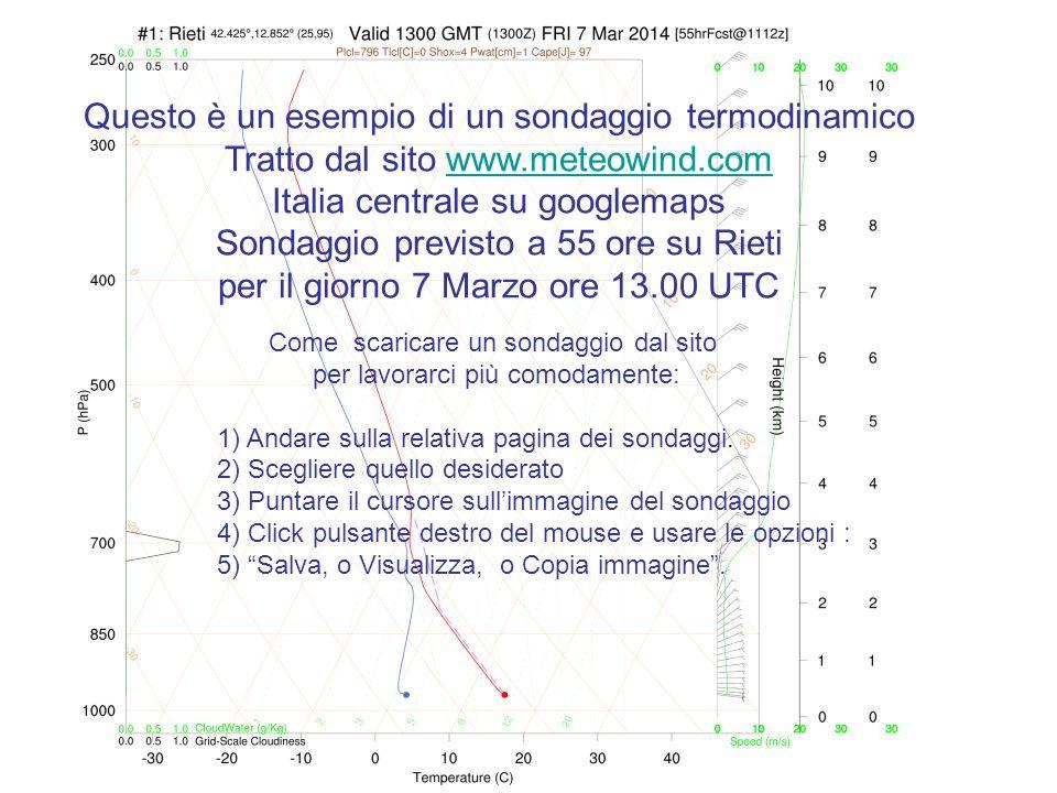18°c Riportiamo lungo isoterma 18°c al suolo di Rieti.