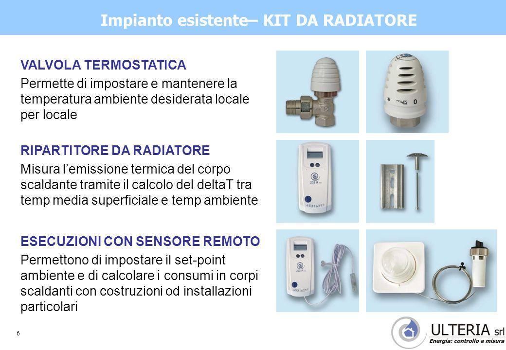 7 INSTALLAZIONE SISTEMA RADIO Determinazione della posizione dei concentratori Il raggio di ricezione della trasmissione tecnologia wireless radio secondo normativa europea EN 834 e HKVO A1.01.2002 è di media 15 mt, con massimo di 25 mt.
