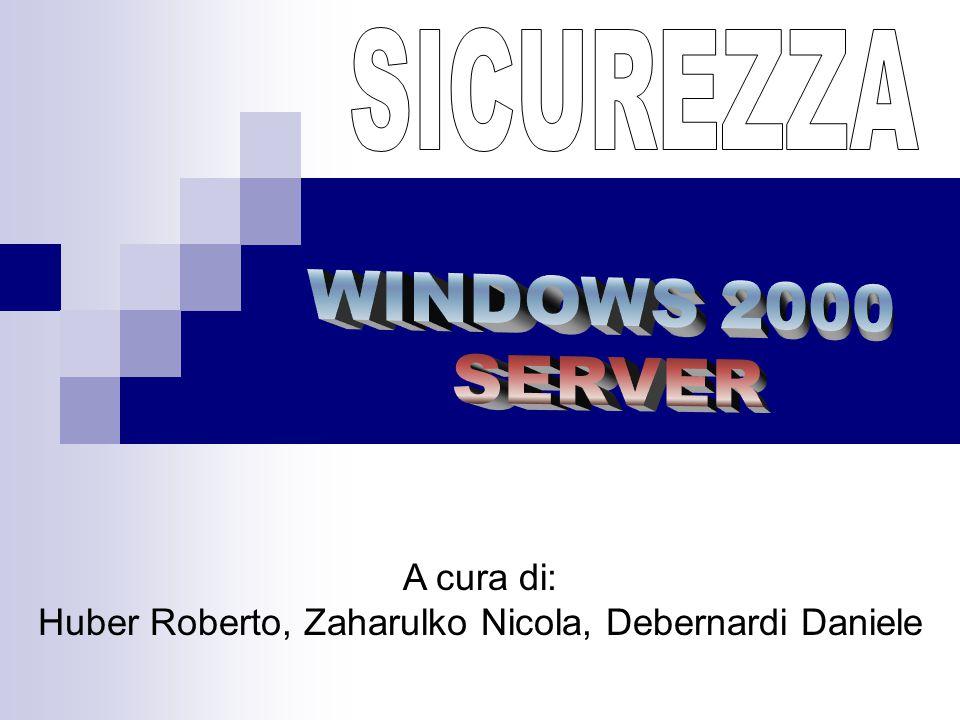A cura di: Huber Roberto, Zaharulko Nicola, Debernardi Daniele