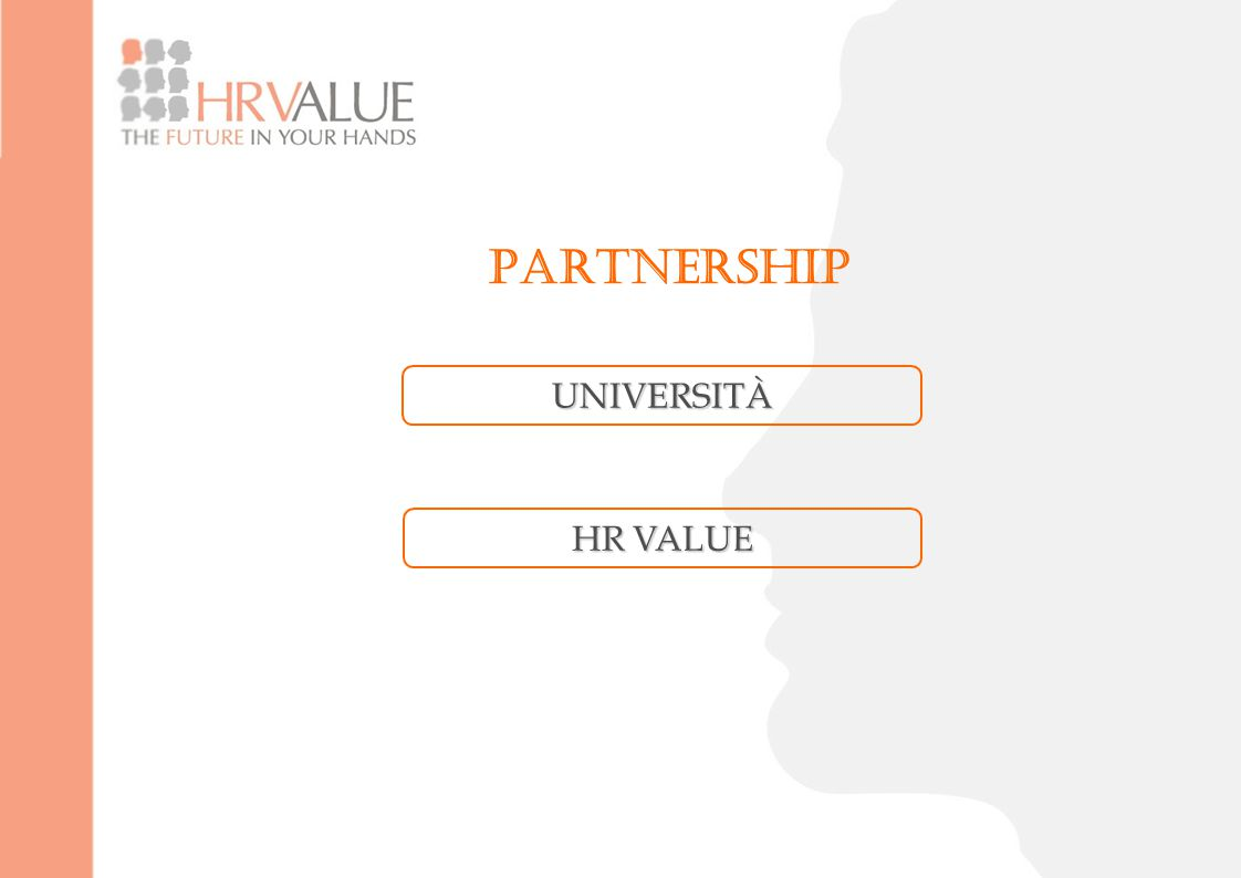 PARTNERSHIP HR VALUE UNIVERSITÀ