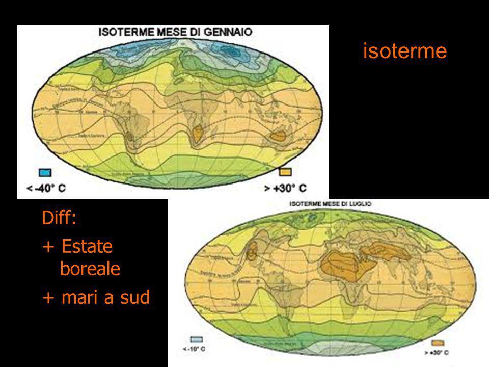 isoterme Diff: + Estate boreale + mari a sud