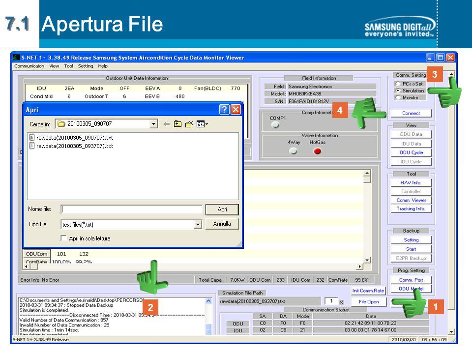 3 4 2 1 Apertura File 7.1