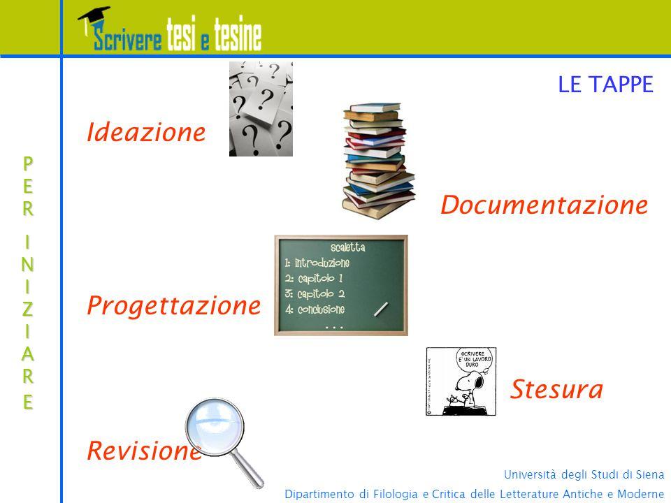 Università degli Studi di Siena Dipartimento di Filologia e Critica delle Letterature Antiche e Moderne...